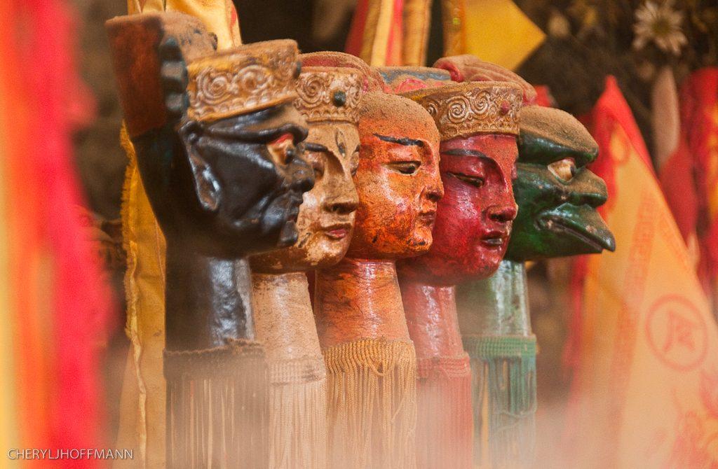 The festival of the Nine Emperor Gods