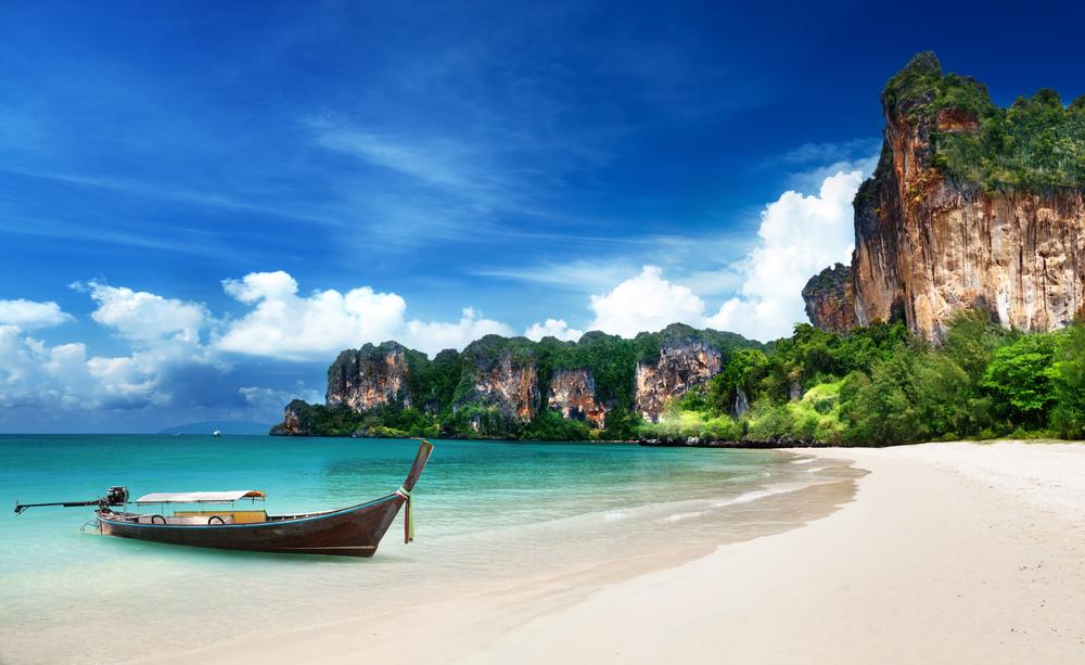 Railey beach in Krabi