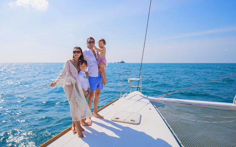 Luxury Charter in Catamaran