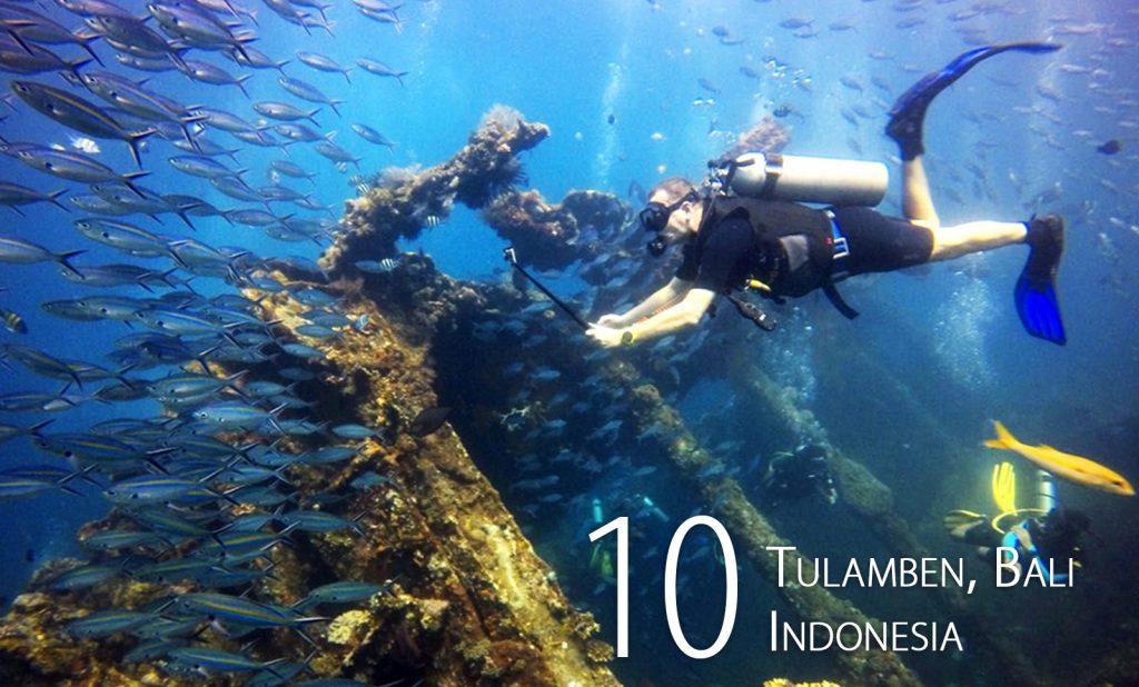 Tulamben, Bali, Indonesia
