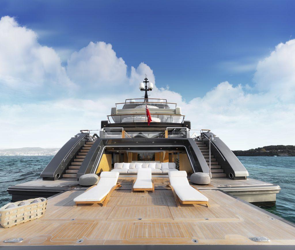 superyacht Sanlorenzo 64Steel