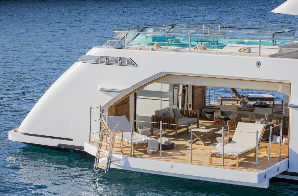 superyacht Sanlorenzo 52Steel
